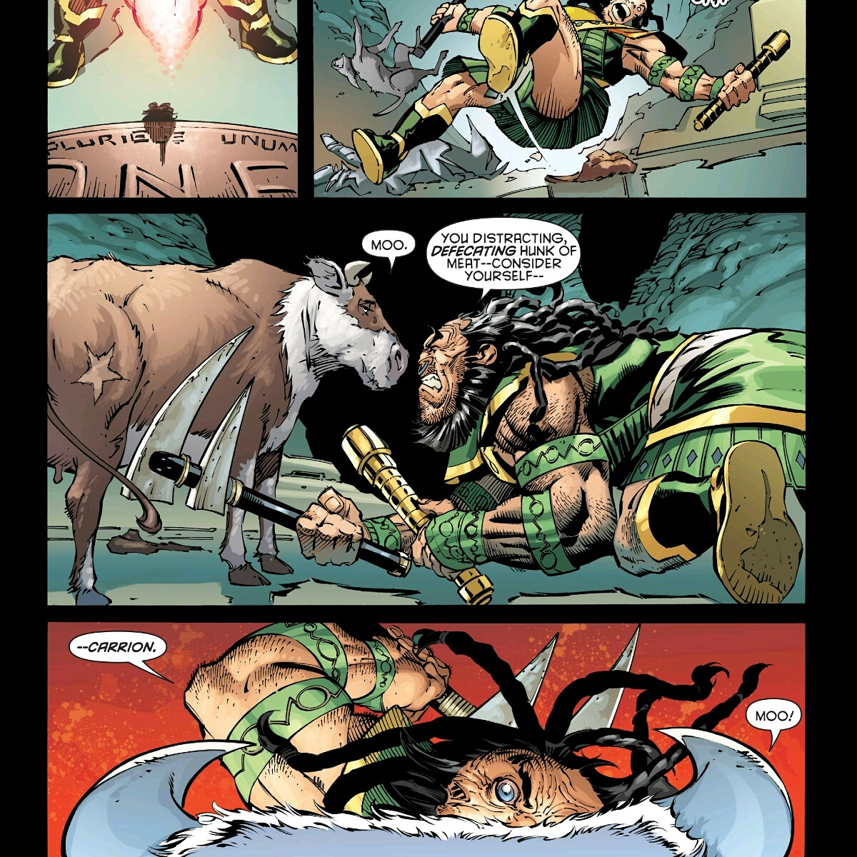 a page from: Robin Rises: Alphano.1