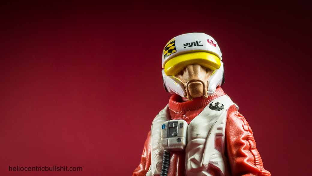 Star Wars toy report: Pilot Asty (Hasbro 3,75 inch version)